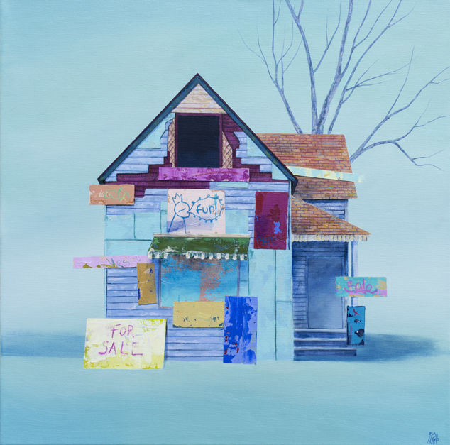 For Sale |Pintura de Rosa Alamo | Compra arte en Flecha.es