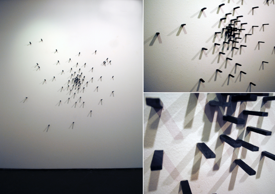 Fragmentos de suelo en explosión  Escultura de VanessaGallardo   Compra arte en Flecha.es