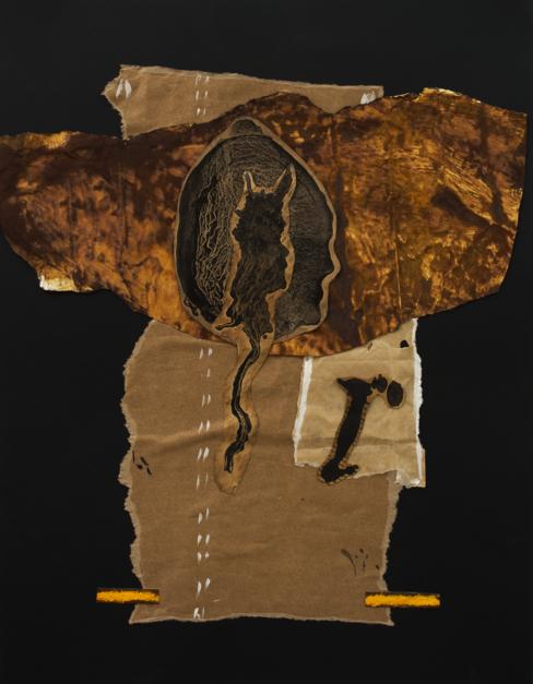 Enigmas de la femineidad 3 |Collage de Txabi Sagarzazu | Compra arte en Flecha.es