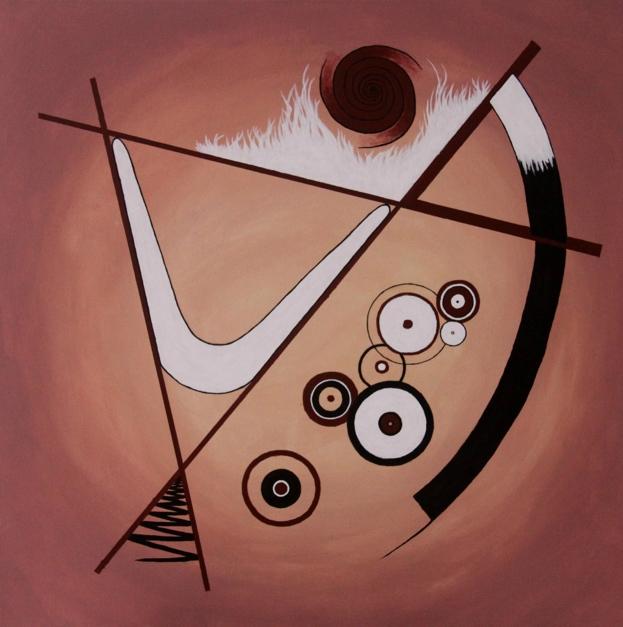 The Hypnotic Dance |Pintura de Alina Mar | Compra arte en Flecha.es