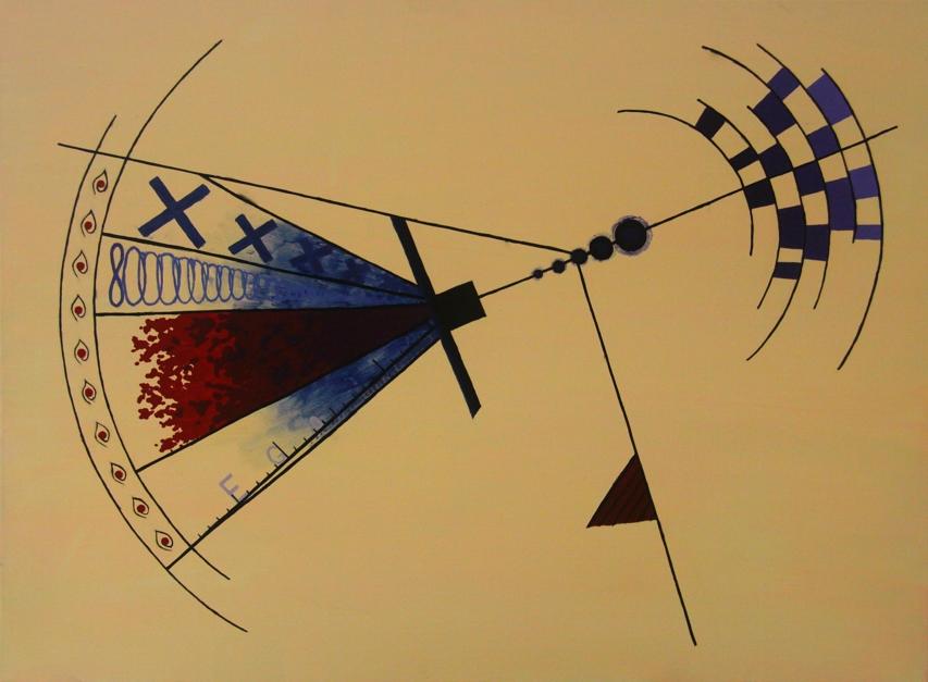 Manufactured Freedom/Slavery |Pintura de Alina Mar | Compra arte en Flecha.es