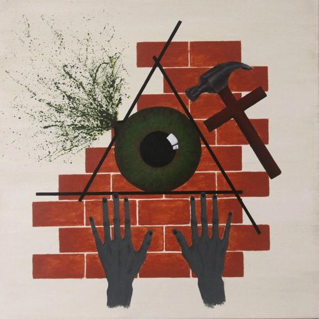 Eye of Oppression |Pintura de Alina Mar | Compra arte en Flecha.es