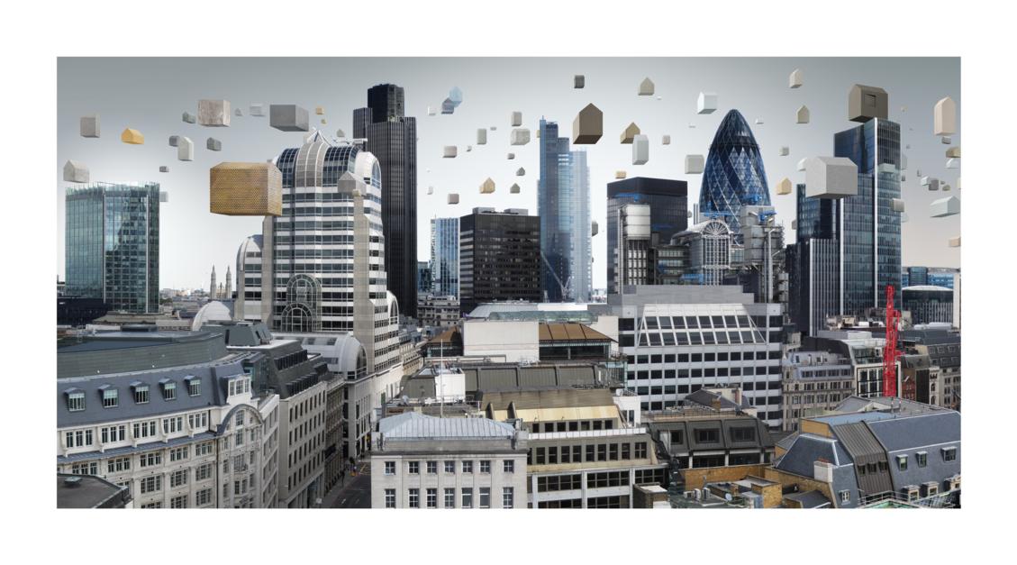 London (The City)  Digital de Paco Díaz   Compra arte en Flecha.es