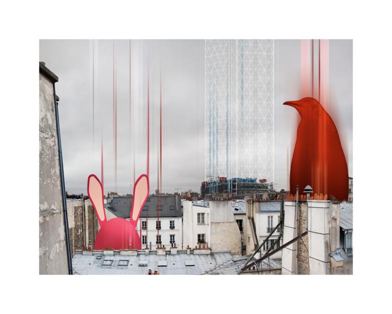 Paris 2 |Digital de Paco Díaz | Compra arte en Flecha.es
