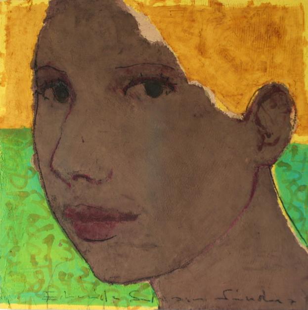 """EUGENIA"" |Pintura de Eduardo Salazar | Compra arte en Flecha.es"