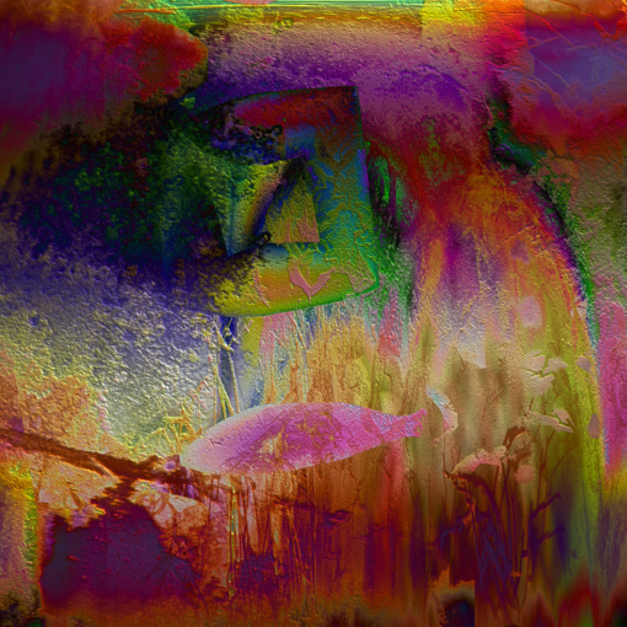 PAISAJE HÚMEDO Nº 9 |Digital de rocamseo | Compra arte en Flecha.es
