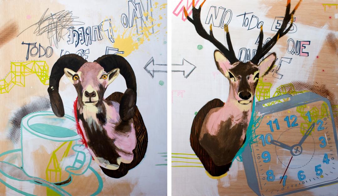 La ambigüedad de las cosas |Dibujo de Alejandra de la Torre | Compra arte en Flecha.es