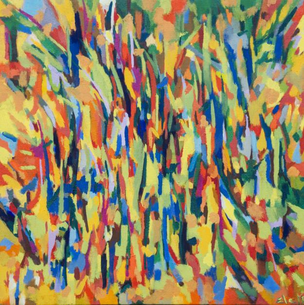 En el Camino |Pintura de isabelmartin | Compra arte en Flecha.es