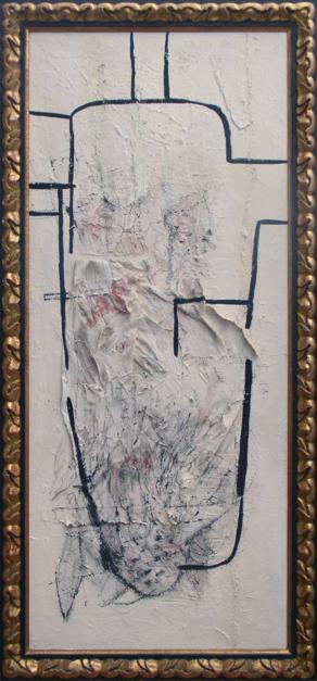 Una figura para Torres García |Collage de Raul Eberhard | Compra arte en Flecha.es