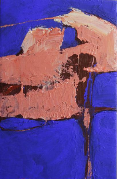 Flamingo |Pintura de Palma Alvariño | Compra arte en Flecha.es
