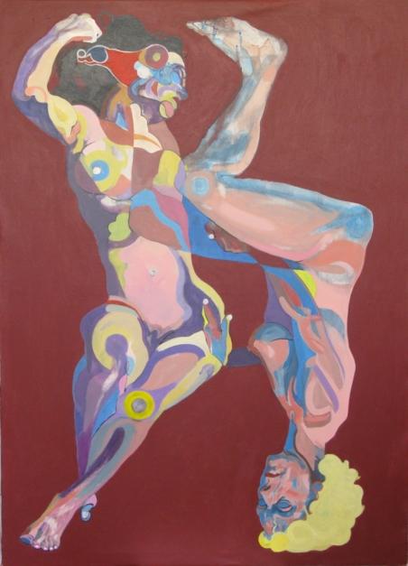 Rubia y Morena |Pintura de Nader | Compra arte en Flecha.es