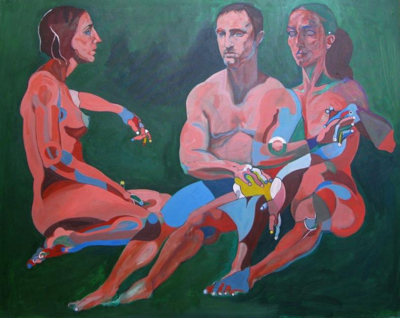 En  jardin |Pintura de Nader | Compra arte en Flecha.es