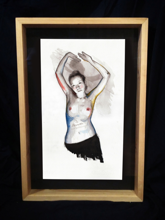 You snatched my entrails | Dibujo de Mentiradeloro | Compra arte en Flecha.es