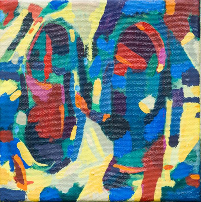 Estridencias IV |Pintura de isabelmartin | Compra arte en Flecha.es