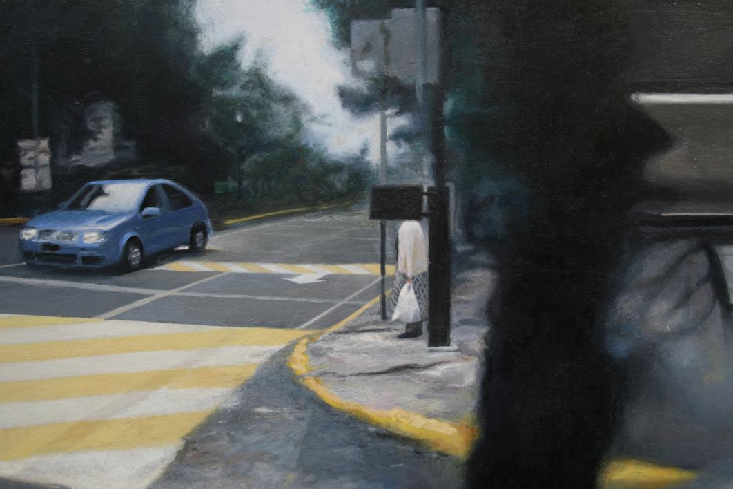 Ficción Urbana III   Pintura de Erick Miraval   Compra arte en Flecha.es