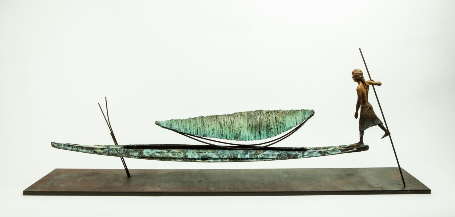 OCEANO   Escultura de Javier de la Rosa   Compra arte en Flecha.es