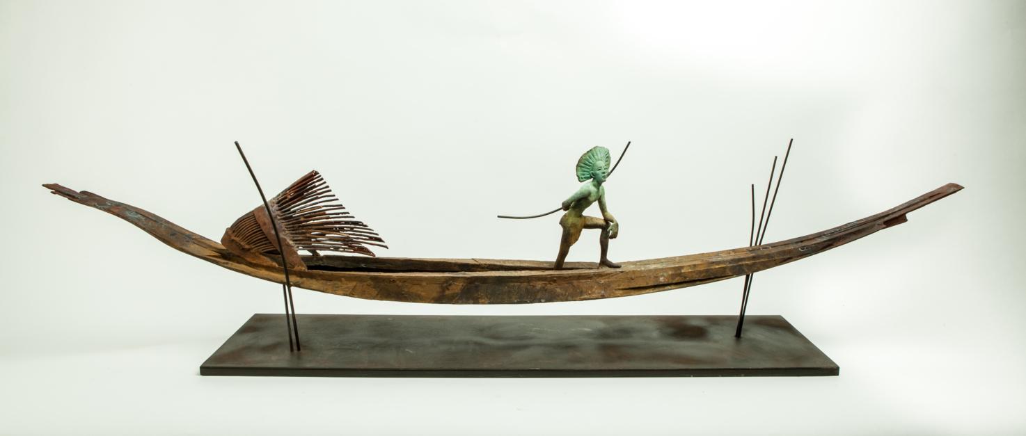 AMAZONAS |Escultura de Javier de la Rosa | Compra arte en Flecha.es