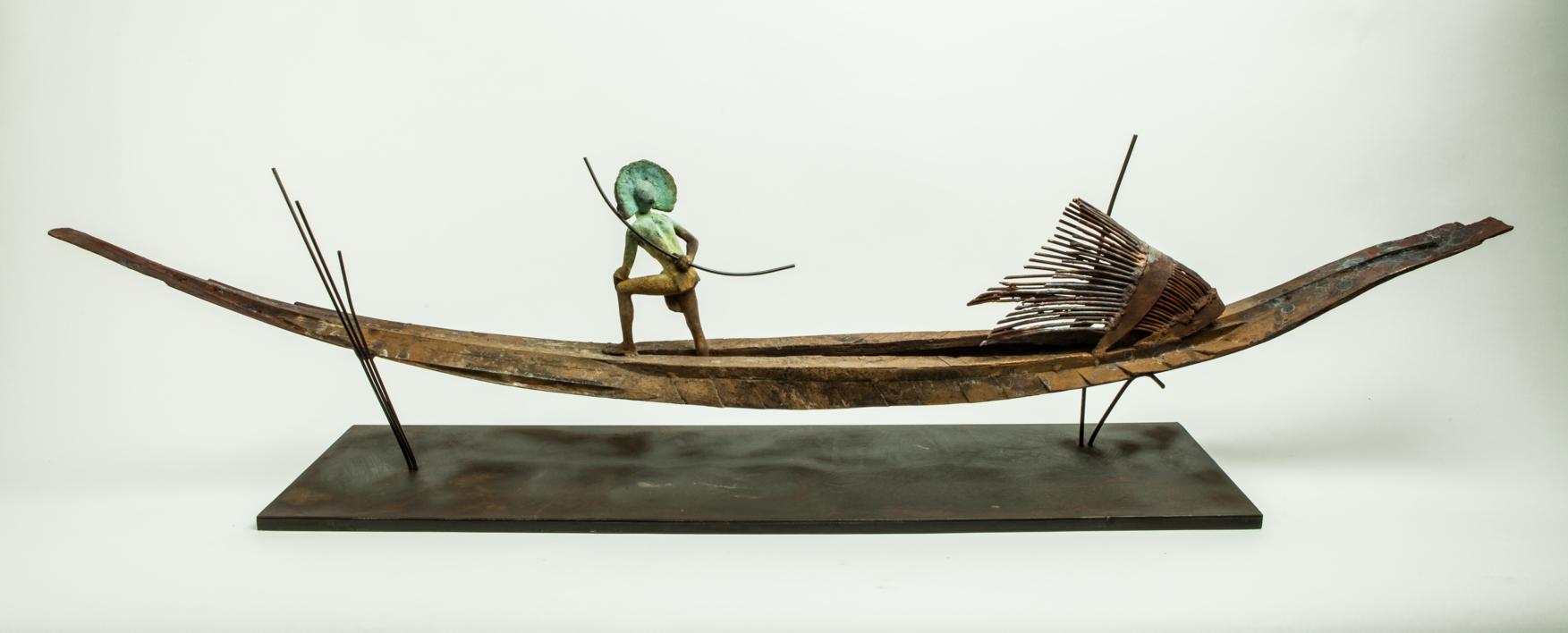 AMAZONAS | Escultura de Javier de la Rosa | Compra arte en Flecha.es