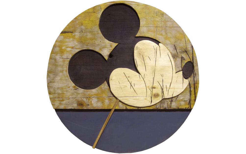 Mickey |Escultura de Juan Diego Miguel | Compra arte en Flecha.es