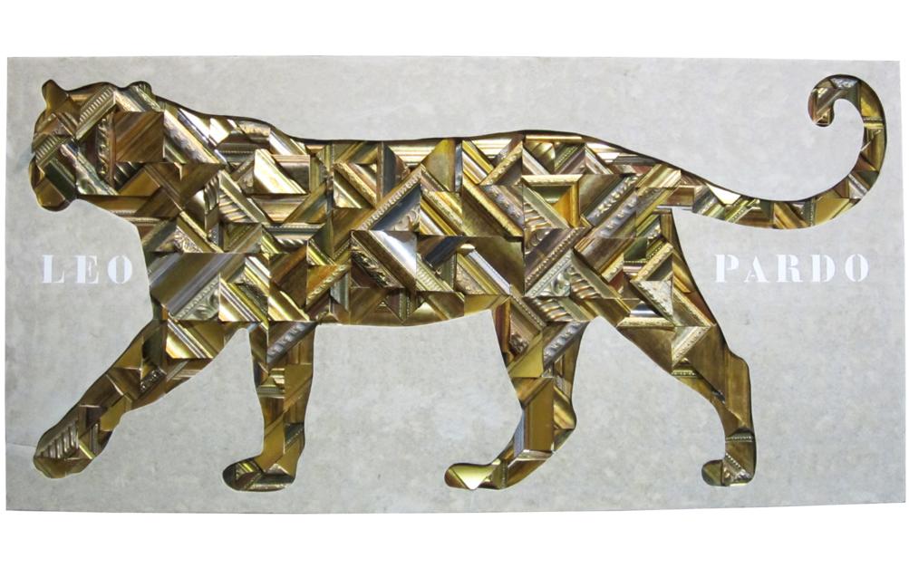 Leopardo |Escultura de Juan Diego Miguel | Compra arte en Flecha.es