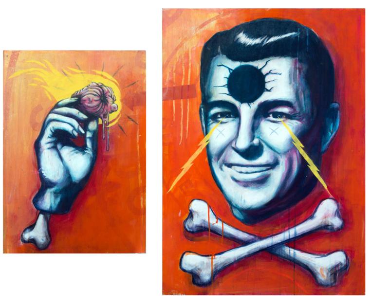 Hell Yeah! |Pintura de Sr. X | Compra arte en Flecha.es