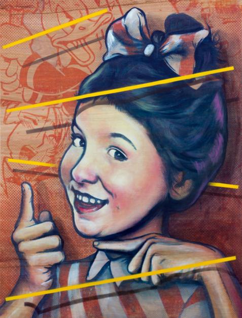 You're Next! |Pintura de Sr. X | Compra arte en Flecha.es
