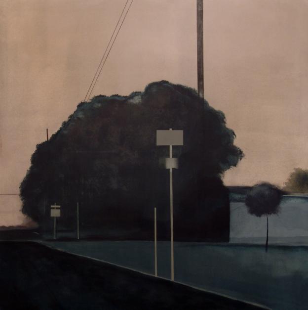 """""""Camino al sur""""  Pintura de Guillermo Moreno   Compra arte en Flecha.es"""