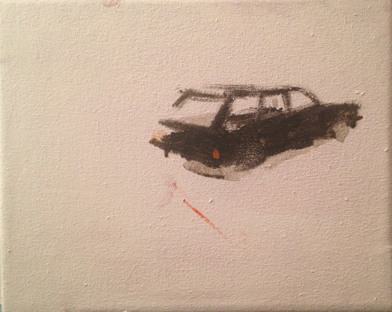 """Go far"" |Pintura de Guillermo Moreno | Compra arte en Flecha.es"