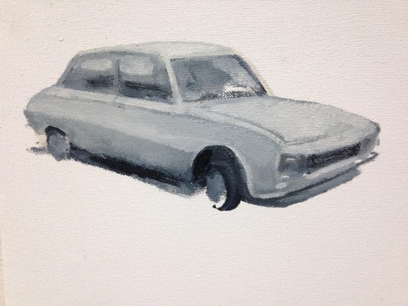 """Go far 5"" |Pintura de Guillermo Moreno | Compra arte en Flecha.es"