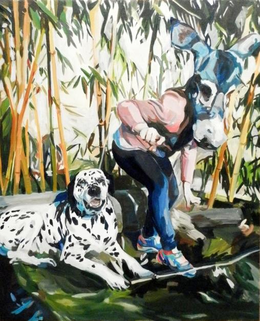 Bamboo Magic |Pintura de Elinor Evans | Compra arte en Flecha.es