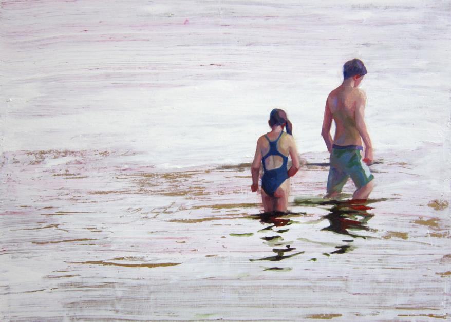 Mar de plata |Pintura de Carmen Montero | Compra arte en Flecha.es