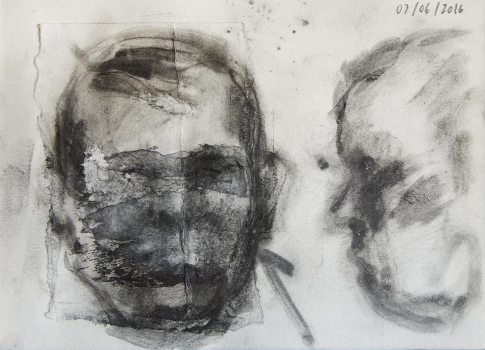 Abuelo Eusebio |Collage de Rodrigo Flechoso Fernández | Compra arte en Flecha.es