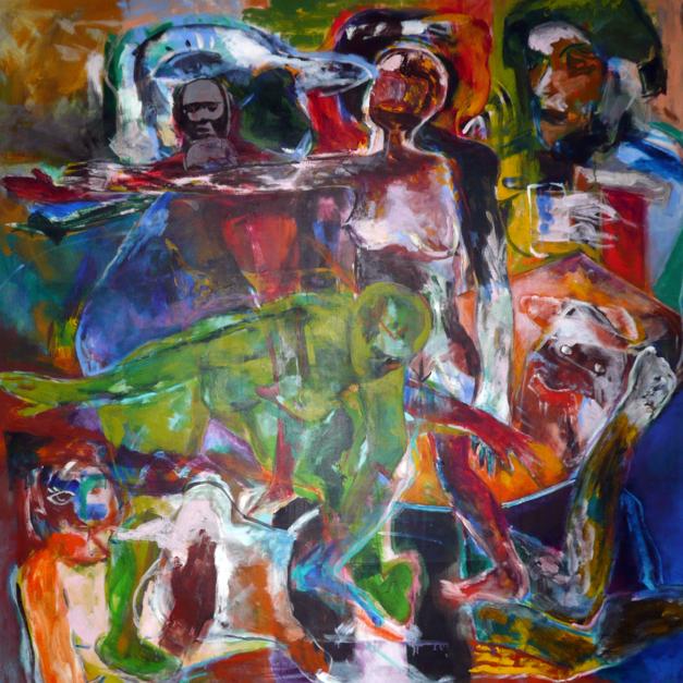 El Reconocimiento |Pintura de Javier Paniagua | Compra arte en Flecha.es