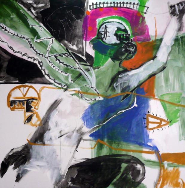 Despertando |Pintura de Javier Paniagua | Compra arte en Flecha.es
