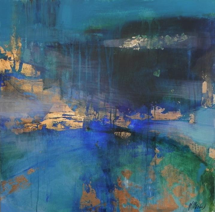 Corrientes |Pintura de Magdalena Morey | Compra arte en Flecha.es