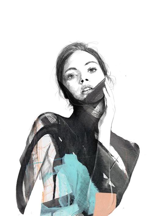 MARTA |Collage de Cristina F Bonet | Compra arte en Flecha.es