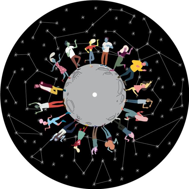 Guateque galáctico |Digital de Elisa González | Compra arte en Flecha.es