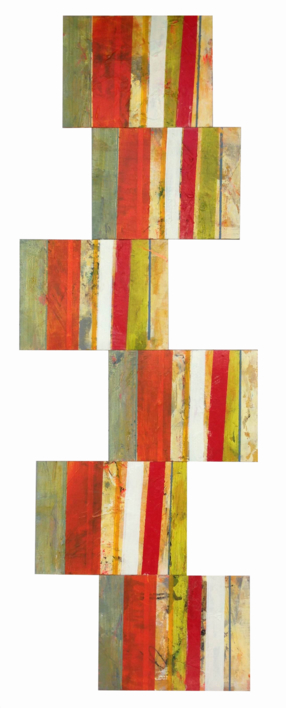 Red is always red |Pintura de María Magdaleno | Compra arte en Flecha.es