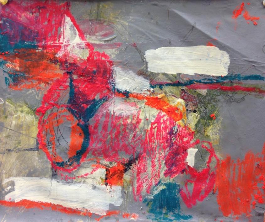 Boceto sin título |Pintura de María Magdaleno | Compra arte en Flecha.es