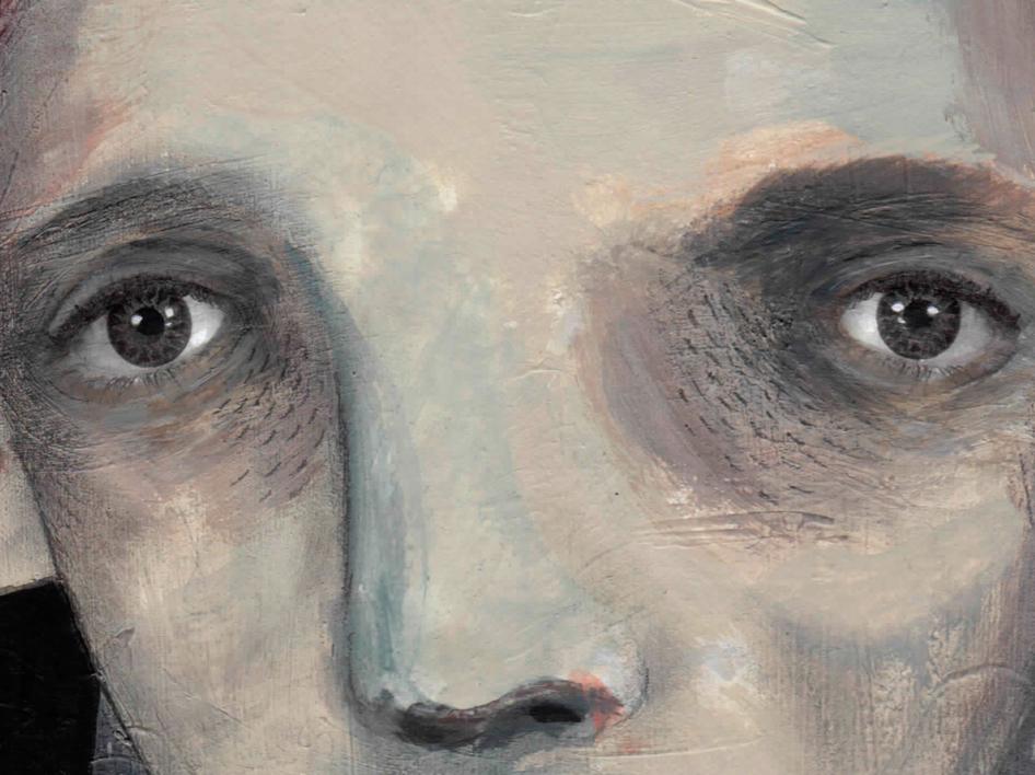 El hombre que espera | Ilustración de Bran Sólo | Compra arte en Flecha.es