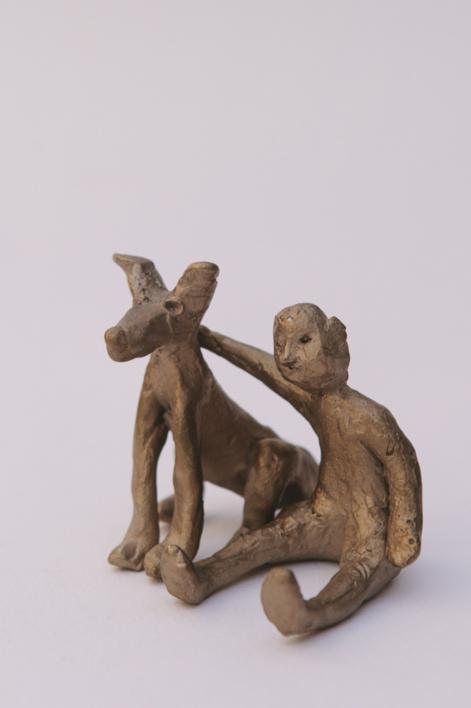Amigos para siempre |Escultura de Ana Valenciano | Compra arte en Flecha.es