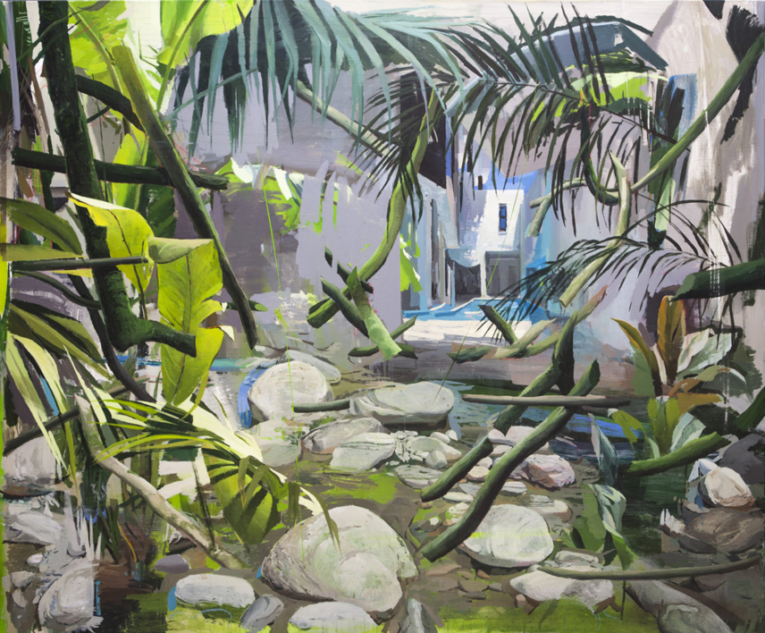 Pacto de Ficción |Pintura de Antonio Barahona | Compra arte en Flecha.es