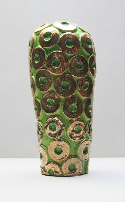 Cactus  Oro |Escultura de Lina Cofán | Compra arte en Flecha.es