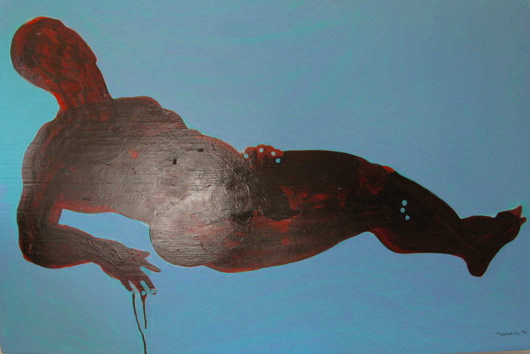 la silueta de Ricardo |Pintura de Nader | Compra arte en Flecha.es