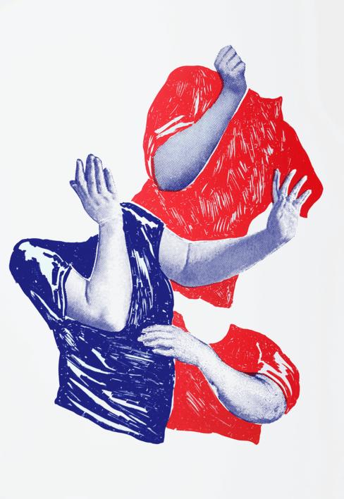 DANZA BARROCA |Dibujo de Mar Estrama | Compra arte en Flecha.es