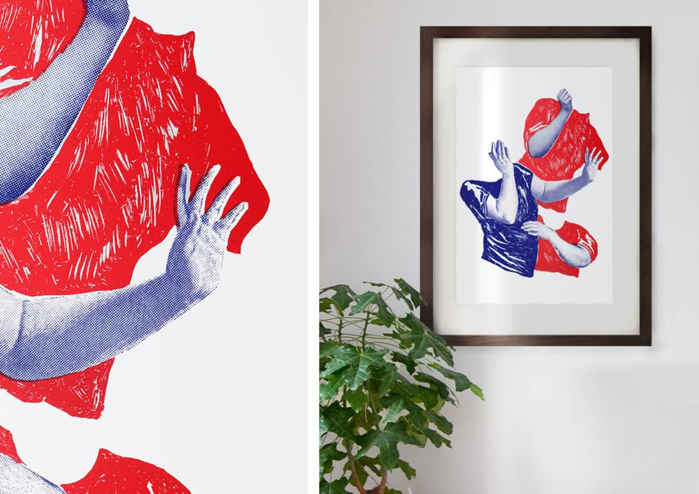 DANZA BARROCA | Dibujo de Mar Estrama | Compra arte en Flecha.es