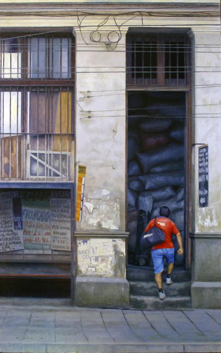 bodega |Pintura de MBravoBecerra | Compra arte en Flecha.es