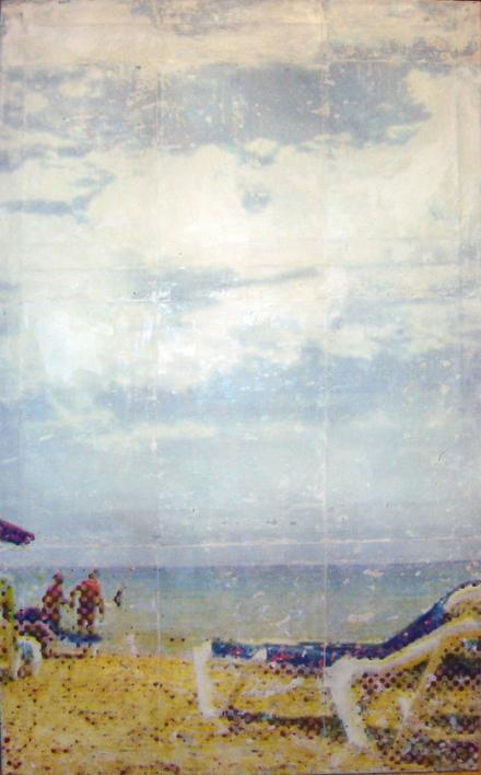 #mediterraneo #loimportanteesconquienlocompartes |Pintura de Juan Carlos Rosa Casasola | Compra arte en Flecha.es