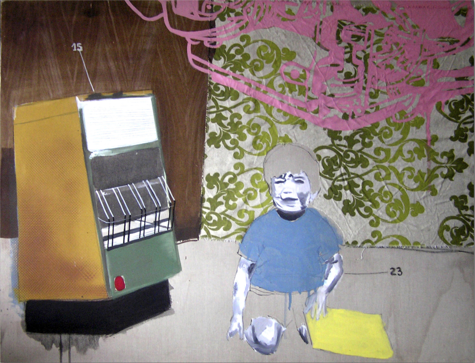 Invierno |Collage de Alejandra de la Torre | Compra arte en Flecha.es