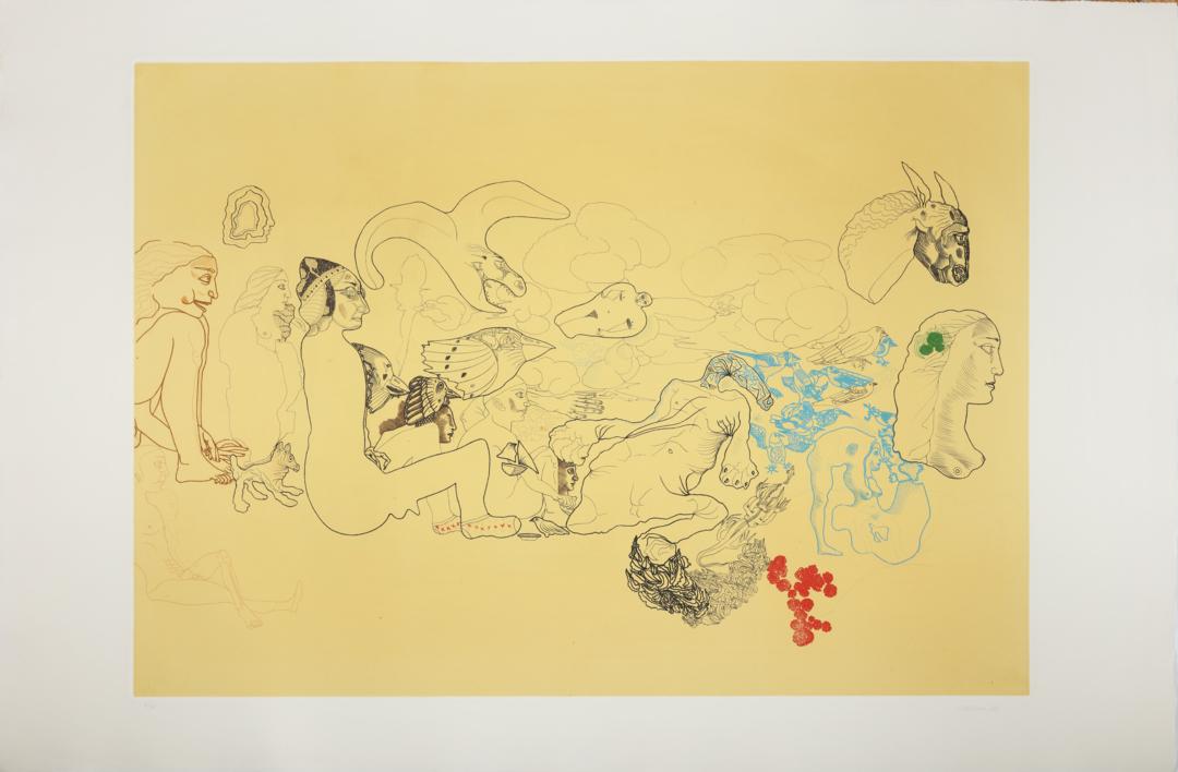 Escena Campestre |Obra gráfica de Jorge Castillo | Compra arte en Flecha.es